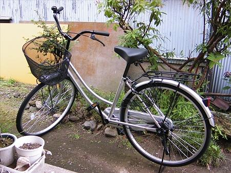 おニューな自転車